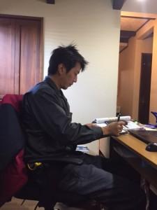新たなスタッフ 斎藤真也 32歳