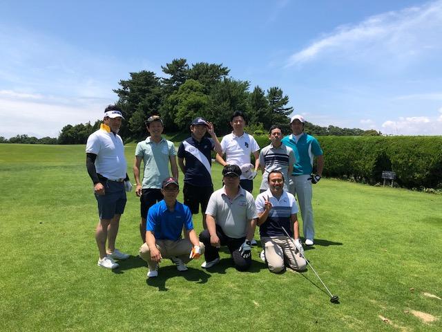 地元の仲間 厄年会ゴルフ